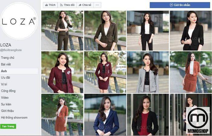 Loza - Một thương hiệu quần áo công sở uy tín