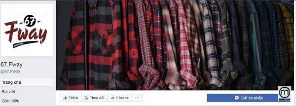 67 Fway - shop áo flannel giá rẻ được nhiều bạn trẻ quan tâm tại Hà Nội