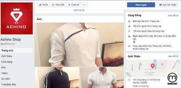 Achino - Shop áo flannel giá rẻ tại Hà Nội