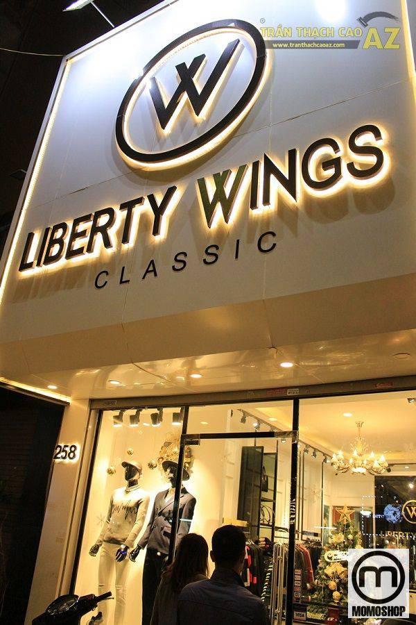 Liberty Wings - shop có nhiều mẫu áo flannel đẹp