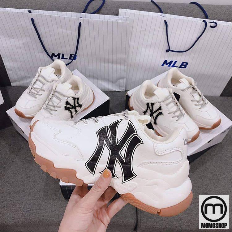 Giày MLB Big Ball Chunky Embo New York Yankees