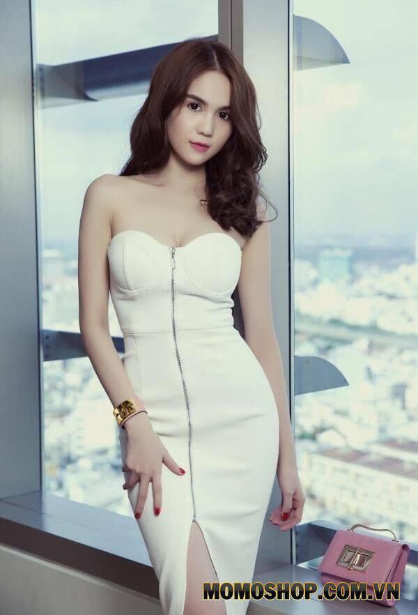 Váy cúp ngực quyến rũ thu hút
