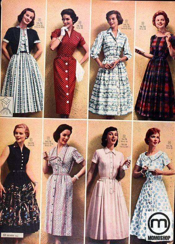 Xu hướng phong cách vintage những thập niên 30 đến 60