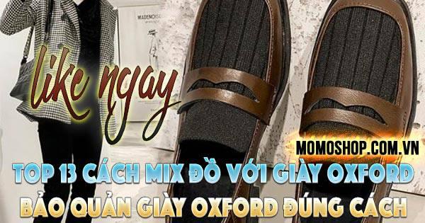 Top 13 Cách Mix Đồ Với Giày Oxford Nam Nữ ĐẸP, CHẤT