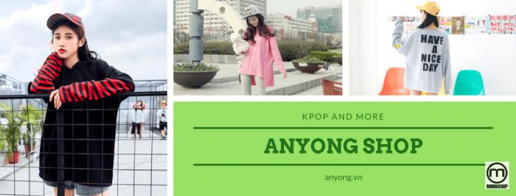 AnYong - Shop bán quần áo unisex phong cách Kpop