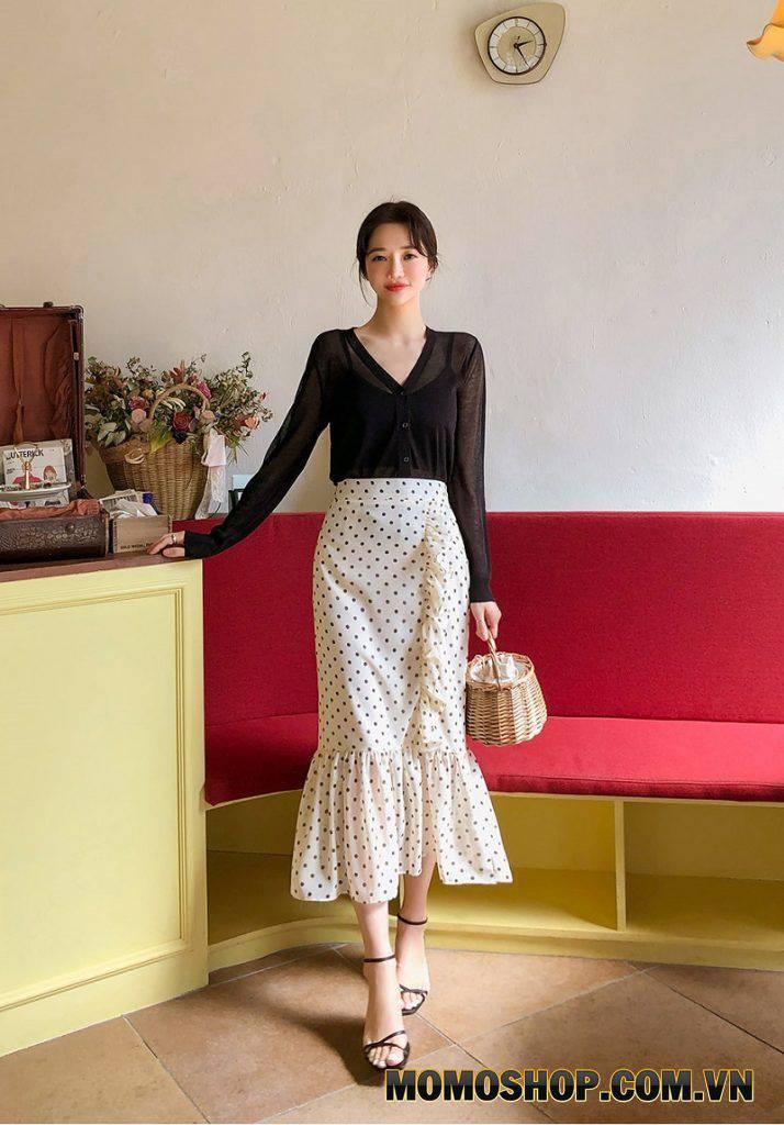 Chân váy đuôi cá - Váy công sở thanh lịch, sang trọng