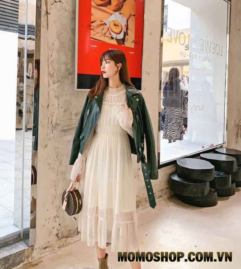 Váy voan dáng dài - Bồng bềnh, duyên dáng