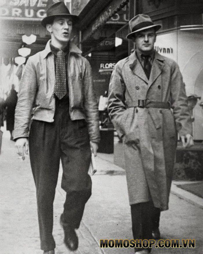 Phối đồ cho nam theo phong cách vintage từ những năm 1930-1939