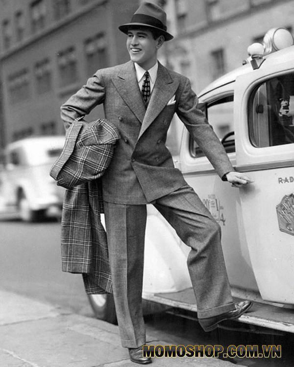 Phối đồ cho nam theo phong cách vintage từ những năm 1940-1949