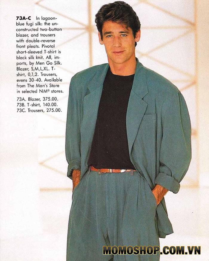 Phối đồ cho nam theo phong cách vintage từ những năm 1980-1989