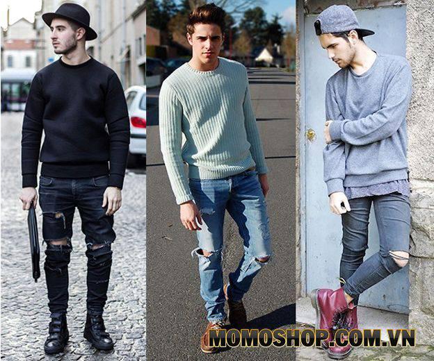 Cách Phối Quần Jeans