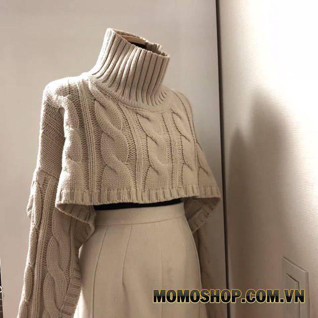 Cách phối đồ với áo len Croptop