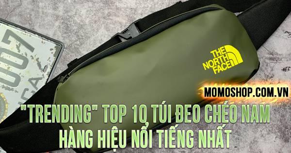 TOP 10 túi đeo chéo nam hàng hiệu nổi tiếng trên thị trường