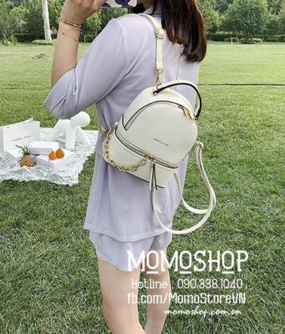 Balo mini Hàn Quốc giá rẻ nhất quận 6 mini200 trắng