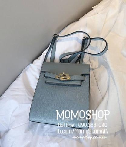 Balo mini Hàn Quốc giá tốt mini193 xanh