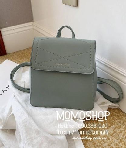 Balo mini chất lượng giá rẻ mini197 xanh