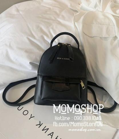 Balo mini nữ cute giá rẻ mini202 đen