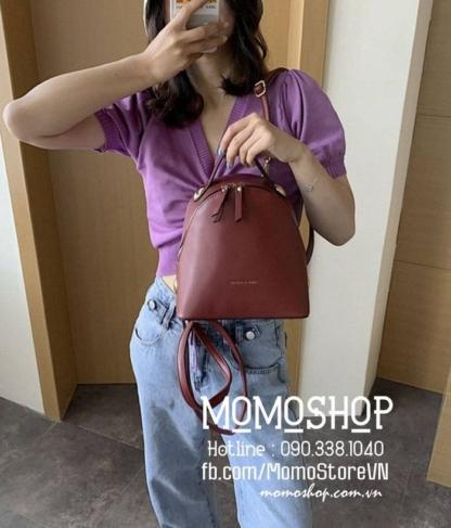 Balo mini nữ dễ thương giá tốt mini192 đỏ