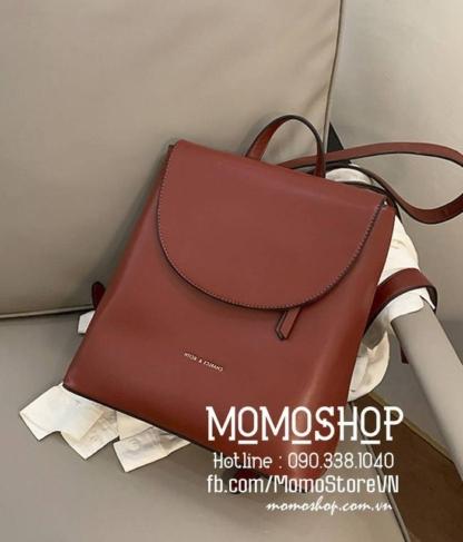 Balo nữ thời trang giá tốt nhất HCM mini194 đỏ