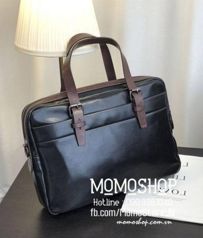 Túi xách laptop nam đẹp bn729 đen