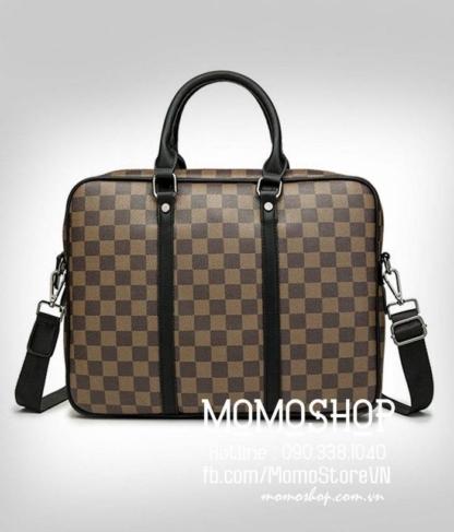 Túi xách laptop nam đẹp bn733 nâu