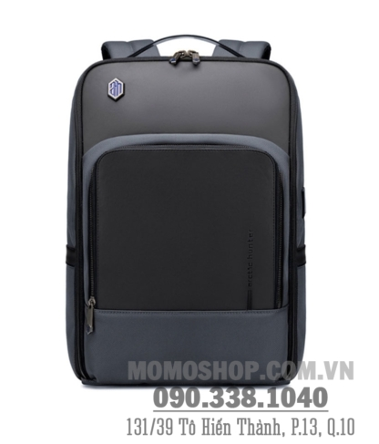 balo-laptop-15-inch-chinh-hang-Arctic-Hunter-bl584-ghi