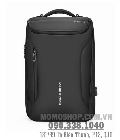 balo-laptop-17-inch-chong-nuoc-chinh-hang-Mark-Ryden-bl593-den