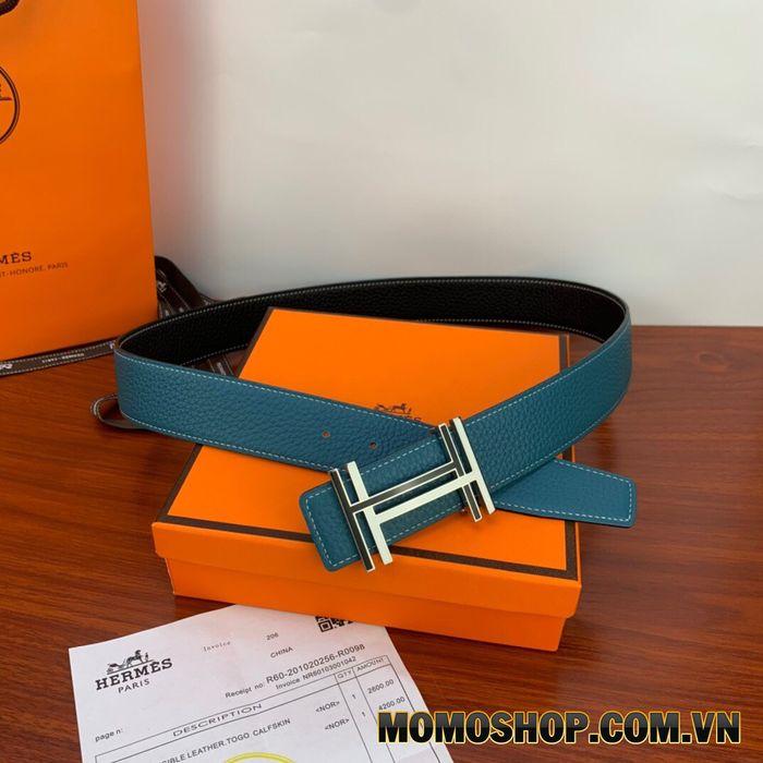 Hermes Hau Carre Belt Bucle & Reversible Leather Strap