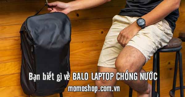 Tại sao nên mua balo laptop chống nước khi đi học