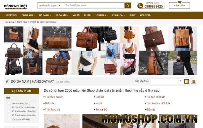 CAPTUIDA shop - Đa dạng các mẫu mã balo laptop thời trang cho nam