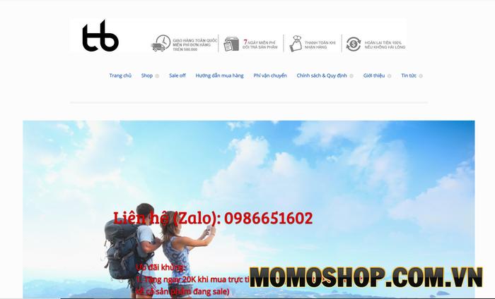 Shop Tâm Bình - Shop bán balo laptop Hàn Quốc giá rẻ tại Hà Nội