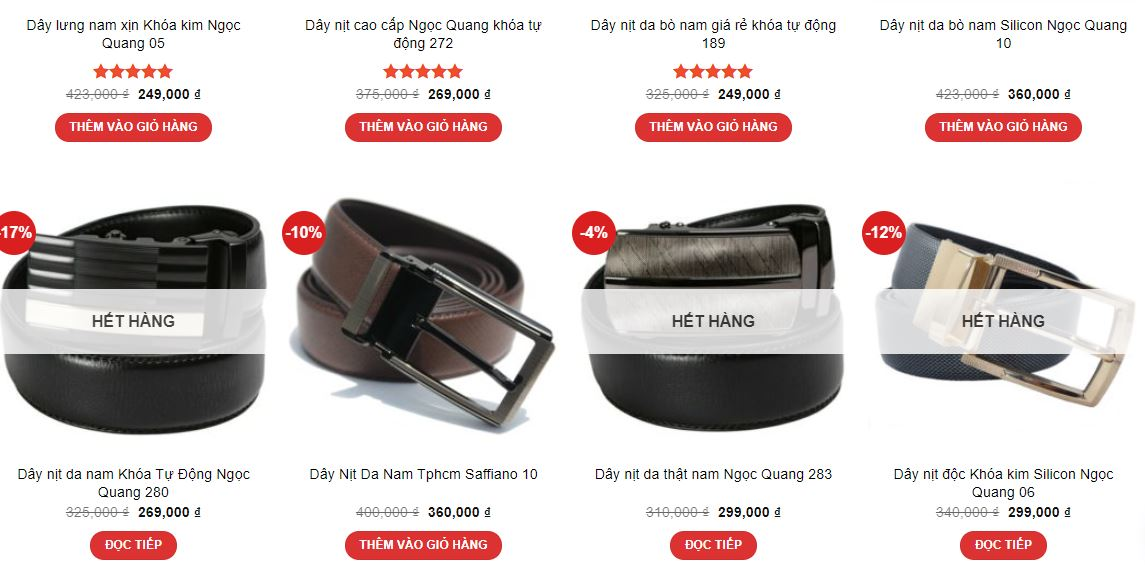 Ngọc Quang Premium Leather Products