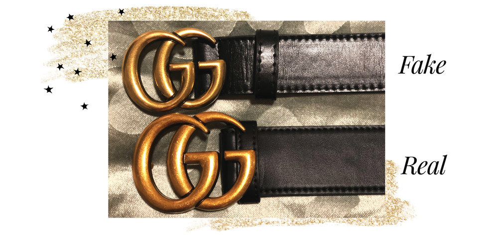 Phân biệt thắt lưng Gucci thật giả qua mặt khóa thắt lưng Gucci