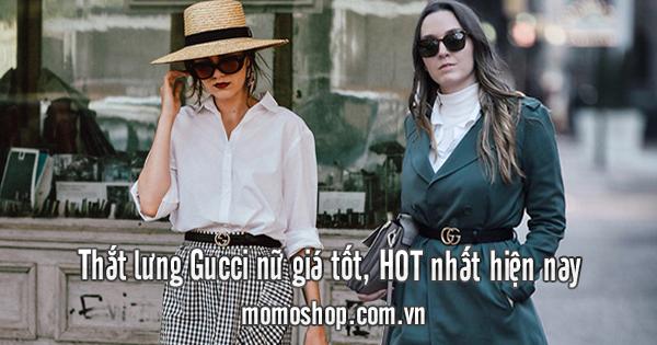 Thắt lưng Gucci nữ giá tốt, HOT nhất hiện nay