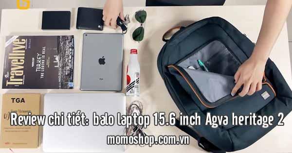 Review Balo laptop 15.6 inch Agva heritage 2 – cập nhật 3 giờ trước
