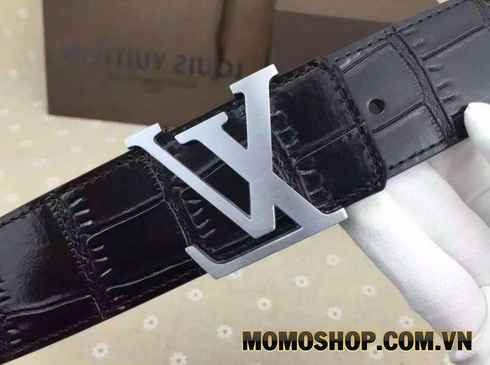 Louis Vuitton 40 MM Crocodile Belt