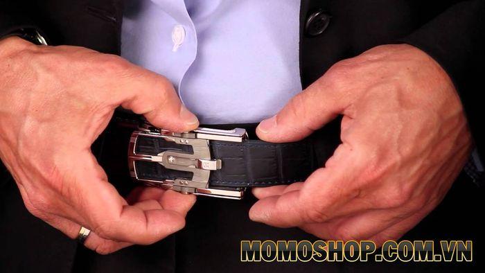 Mẫu thắt lưng quần áo thời trang - Roland Iten Calibre R822