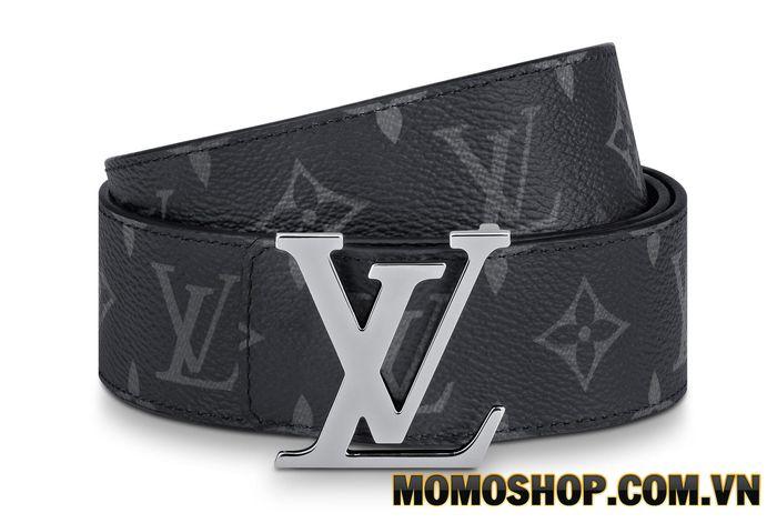 Thắt lưng nam Louis Vuitton Ceinture Leather Belt Lv Initiales 40 mm