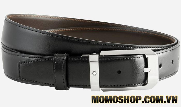 Thắt lưng nam Montblanc Reversible Black/Brown Leather Belt