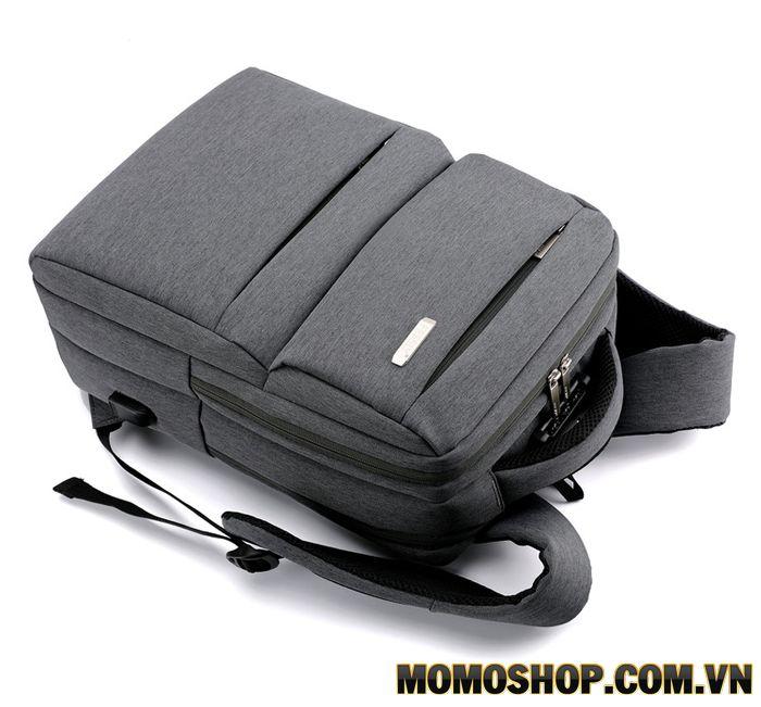 Balo laptop vải canvas cao cấp bl544 đen