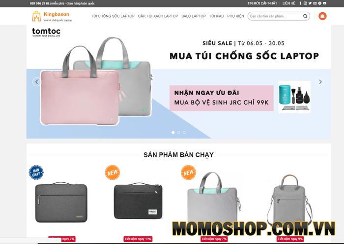 Kingbason - Vua túi chống sốc cho laptop và Macbook