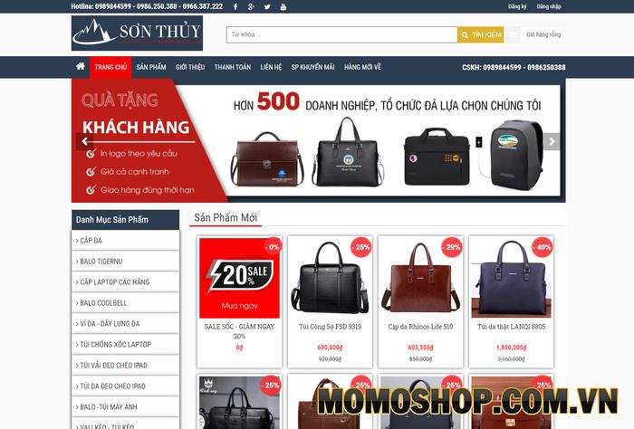 Shop Sơn Thủy - Chuyên túi đựng laptop chống sốc