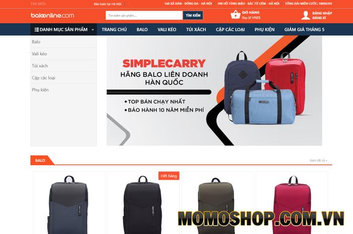 Baloonline.com - Cửa hàng phụ kiện đáng tin cậy