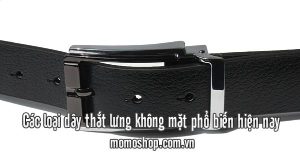 Các loại dây thắt lưng không mặt phổ biến hiện nay