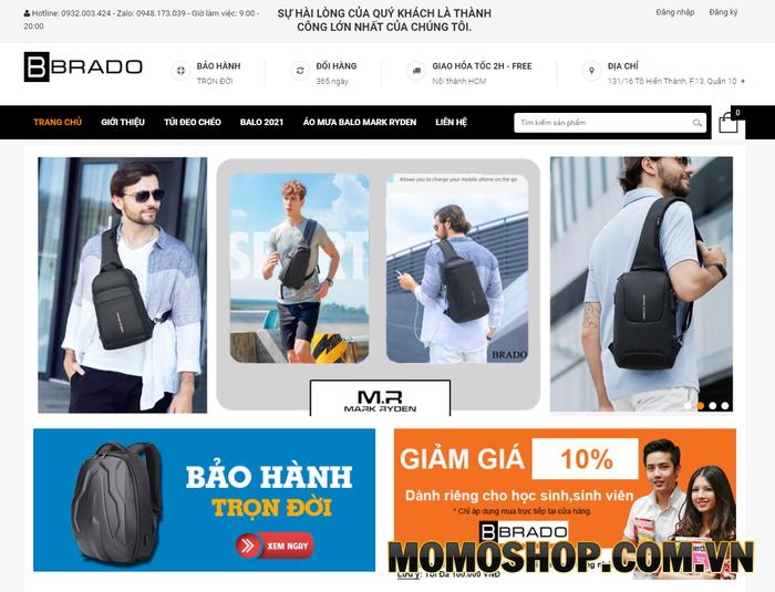 Brado Shop - Thương hiệu thời trang cao cấp của Bồ Đào Nha