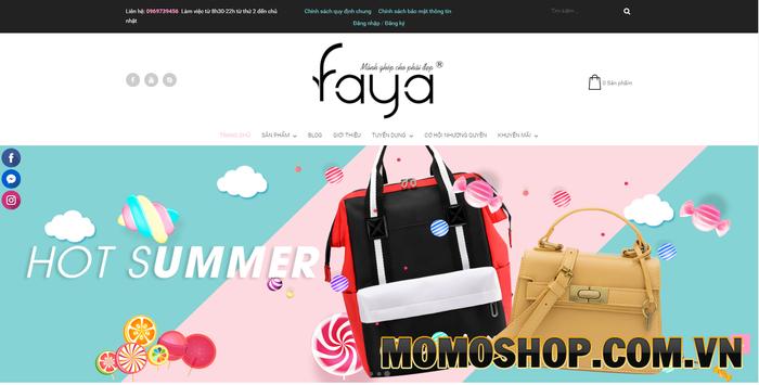 FAYA Bags - Địa chỉ ưu tiên số 1 dành cho các bạn tuổi teen