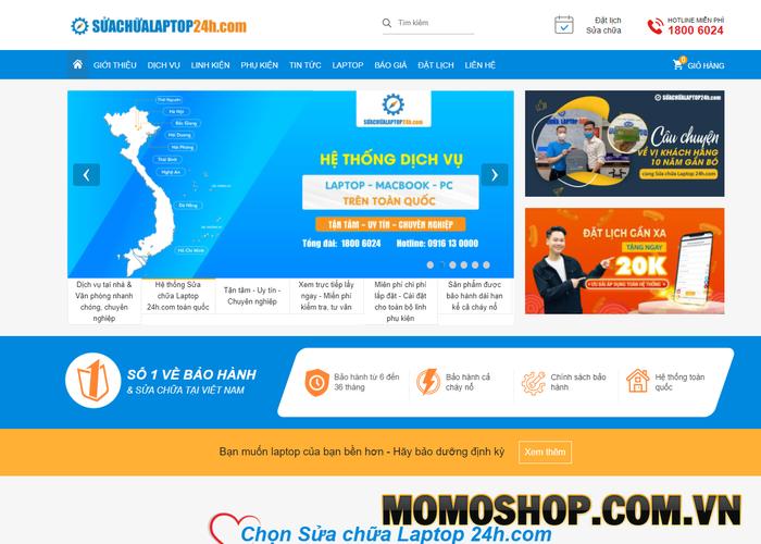 Suachualaptop24h.com - Nhận được nhiều đánh giá tốt từ khách hàng