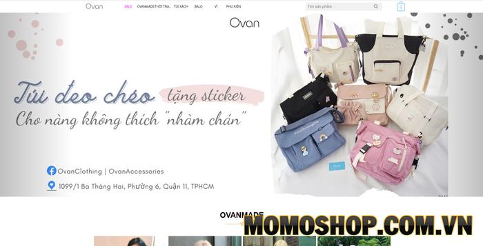 Ovan Shop - Cung cấp nhiều mẫu túi độc, lạ và ít đụng hàng nhất