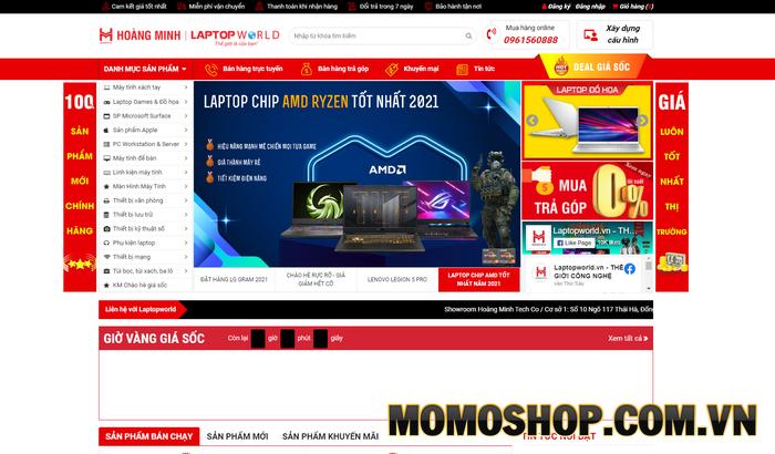Laptopworld - Chuyên cung cấp các mặt hàng, phụ kiện công nghệ số chính hãng