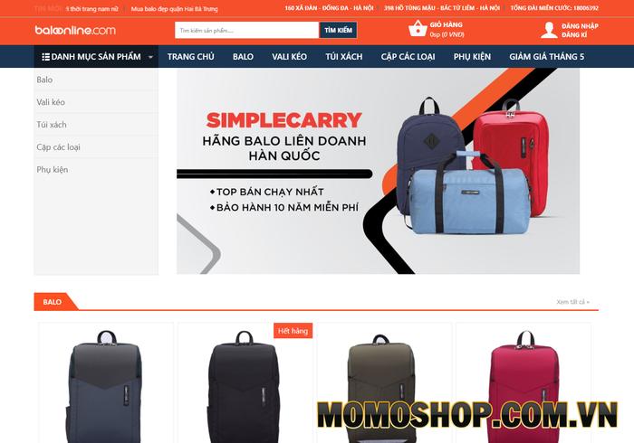 Balloonline.com - Địa chỉ cung cấp nhiều mẫu túi đựng laptop đến từ các thương hiệu nổi tiếng